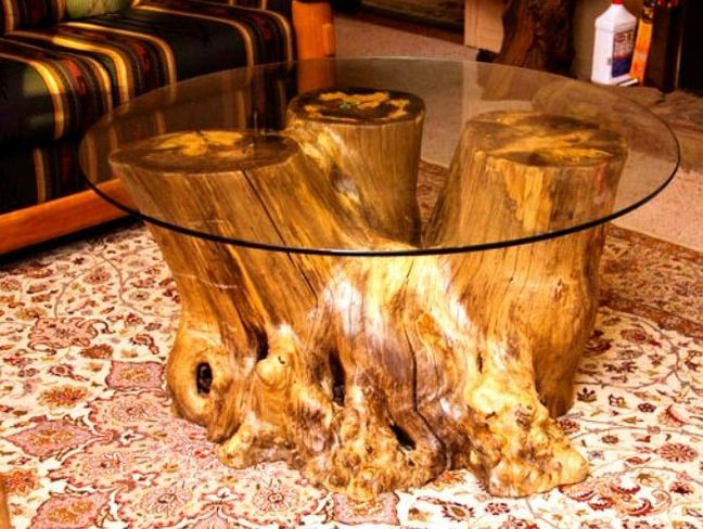 Coffee Table Made From Tree Trunk Coffee Table Wood Tree Stump