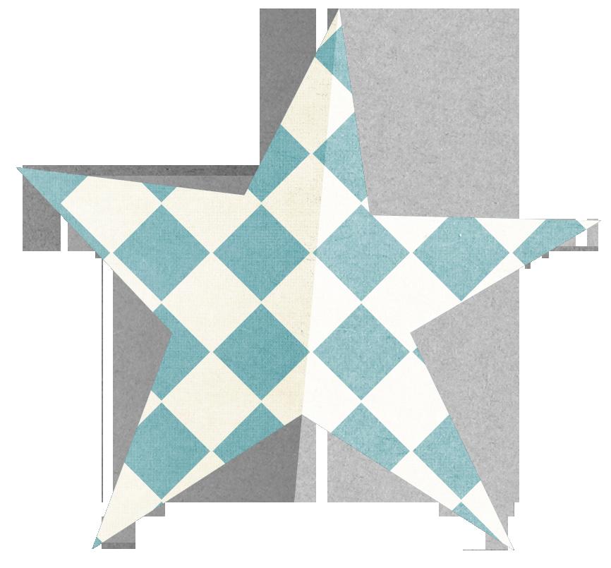 Folded Star Blue Png Star Clipart Stars Clip Art