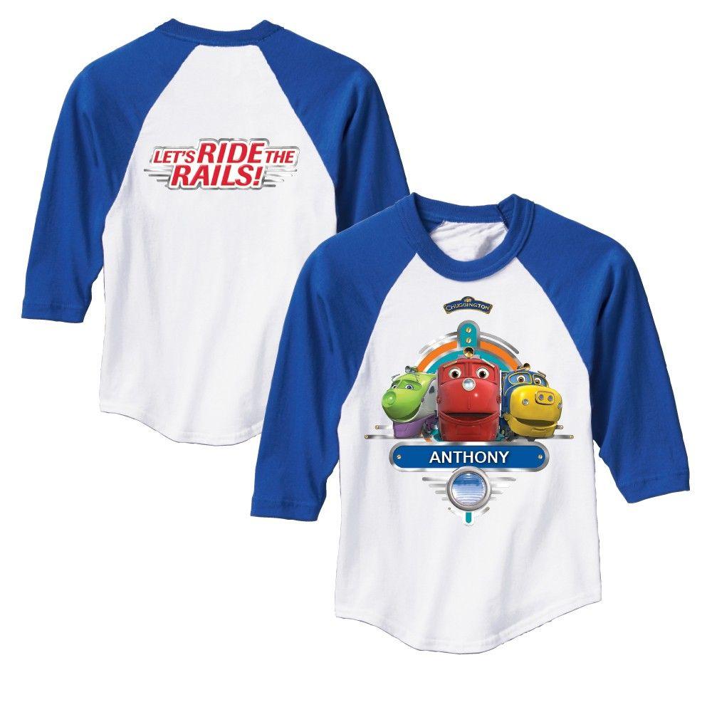 Chuggington Chuggers Royal Blue Sport Jersey | Chuggington ...
