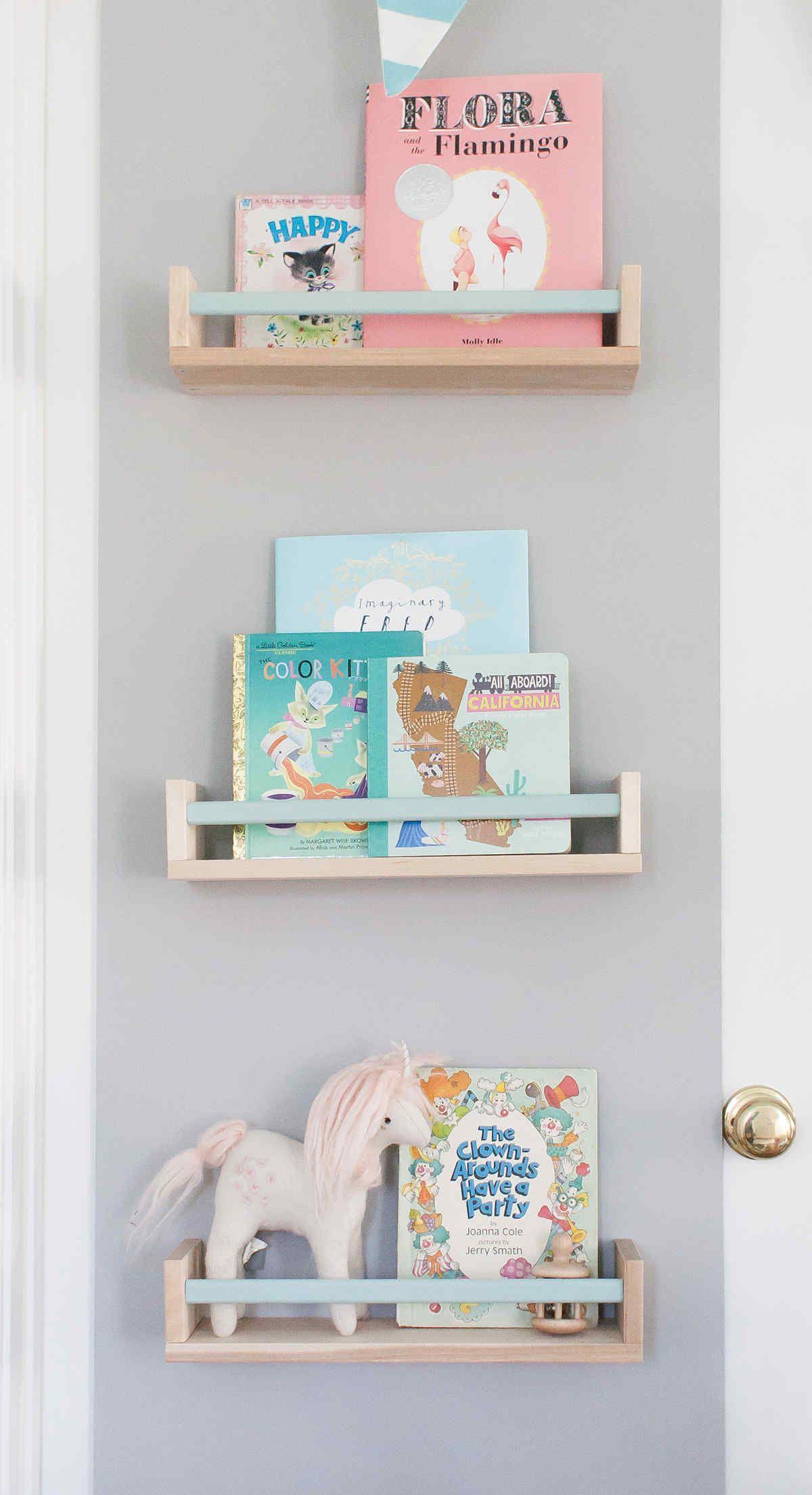 Ikea Bekvam E Rack As Book Shelf With Painted Bar Ellie James 8217 Nursery