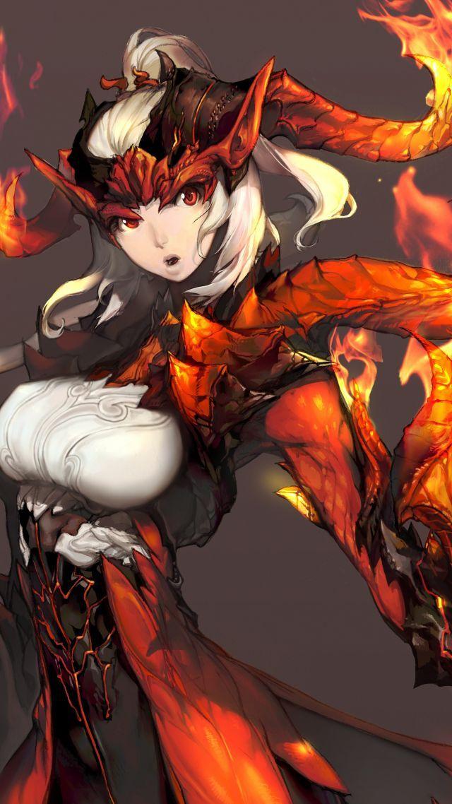 Blade & Soul, game, MMORPG, fantasy, art, PC (vertical