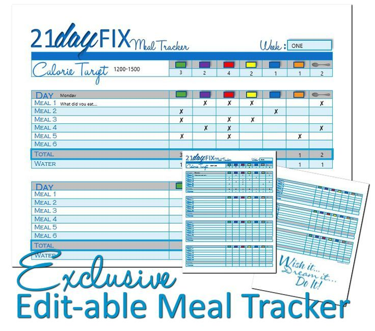 Fillable Meal Planner - Madrat.Co