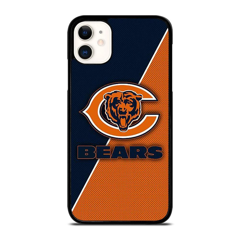 Chicago Bears Logo Iphone 11 Case Cover Casesummer Chicago Bears Logo Iphone 11 Pro Case Iphone 11