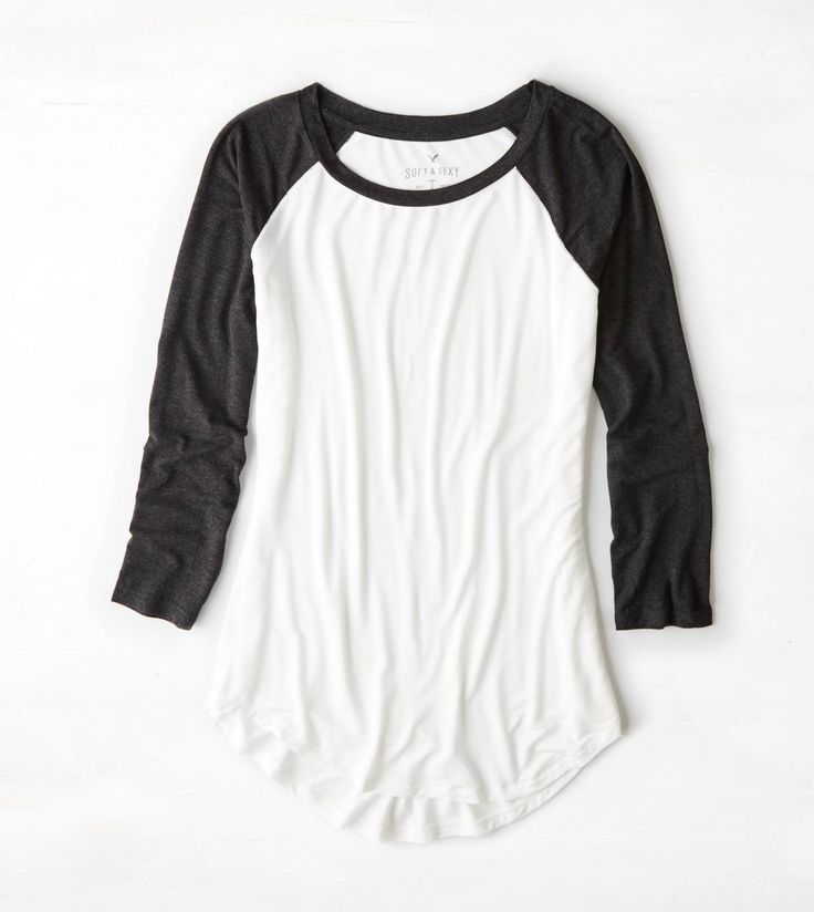 Image result for white shirt women black sleeves t shirt | Fashion ...