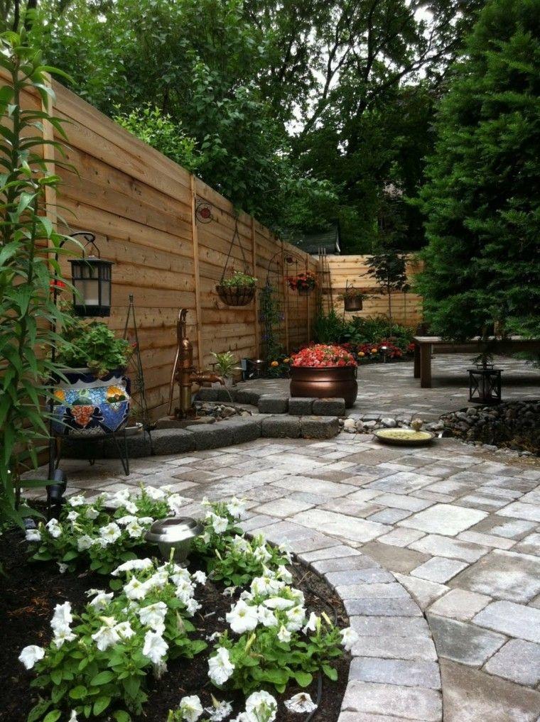 Diseo de jardines pequeos grandes ideas para el jardn Backyard