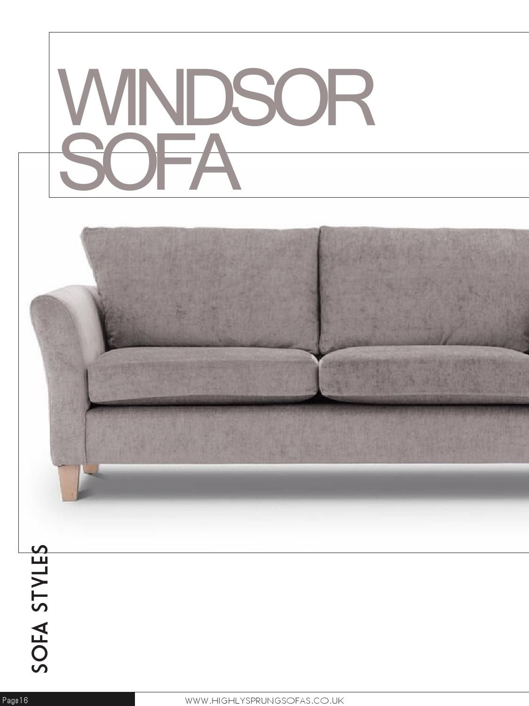 Issuu Highly Sprung Sofas Brochure By Highlysprungsofas