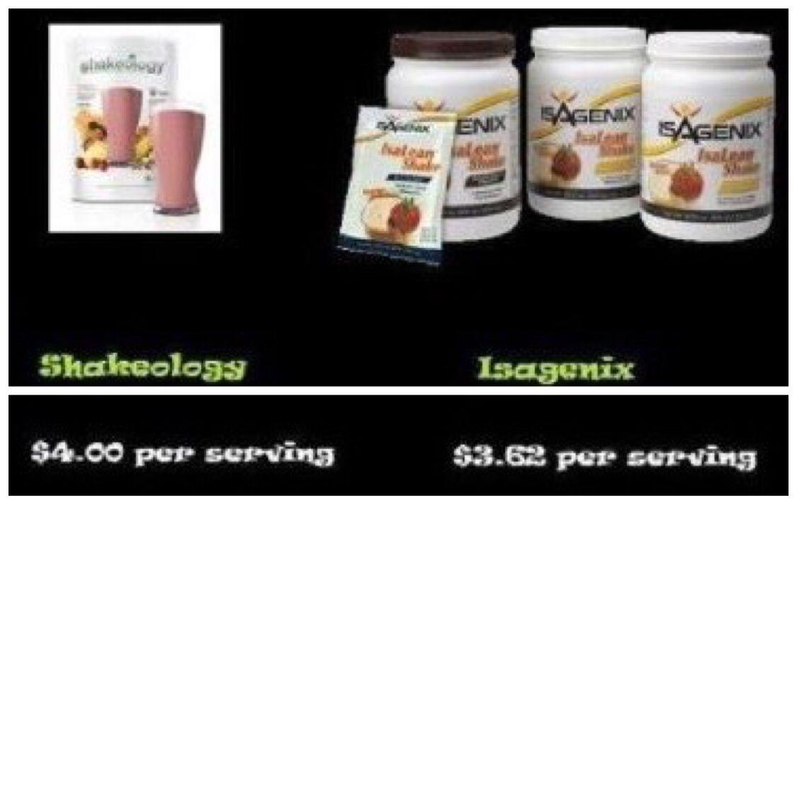 Better nutrition for cheaper!!