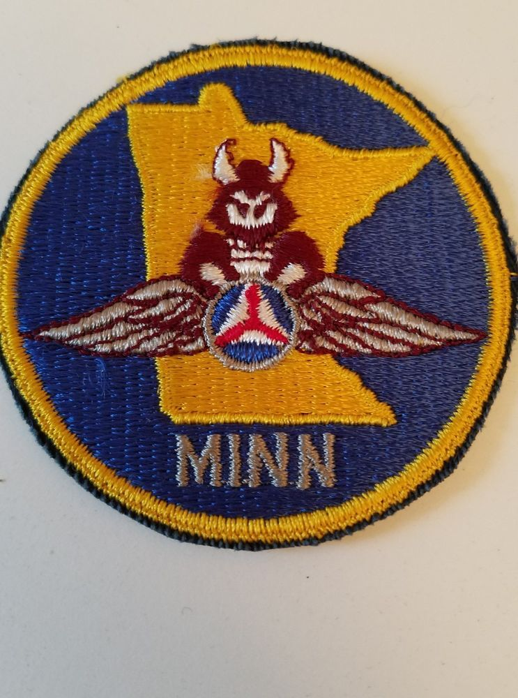 USAF Civil Air Patrol Minnesota Patch Wing MN CAP Civil