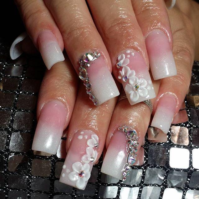 Fantasynails On Instagram Notpolish Pinkpowder Swarovskinails Swarovski 3dnails 3d Nails2inspire Nailswag Nails Nail Swag Nails Swarovski Nails Nails