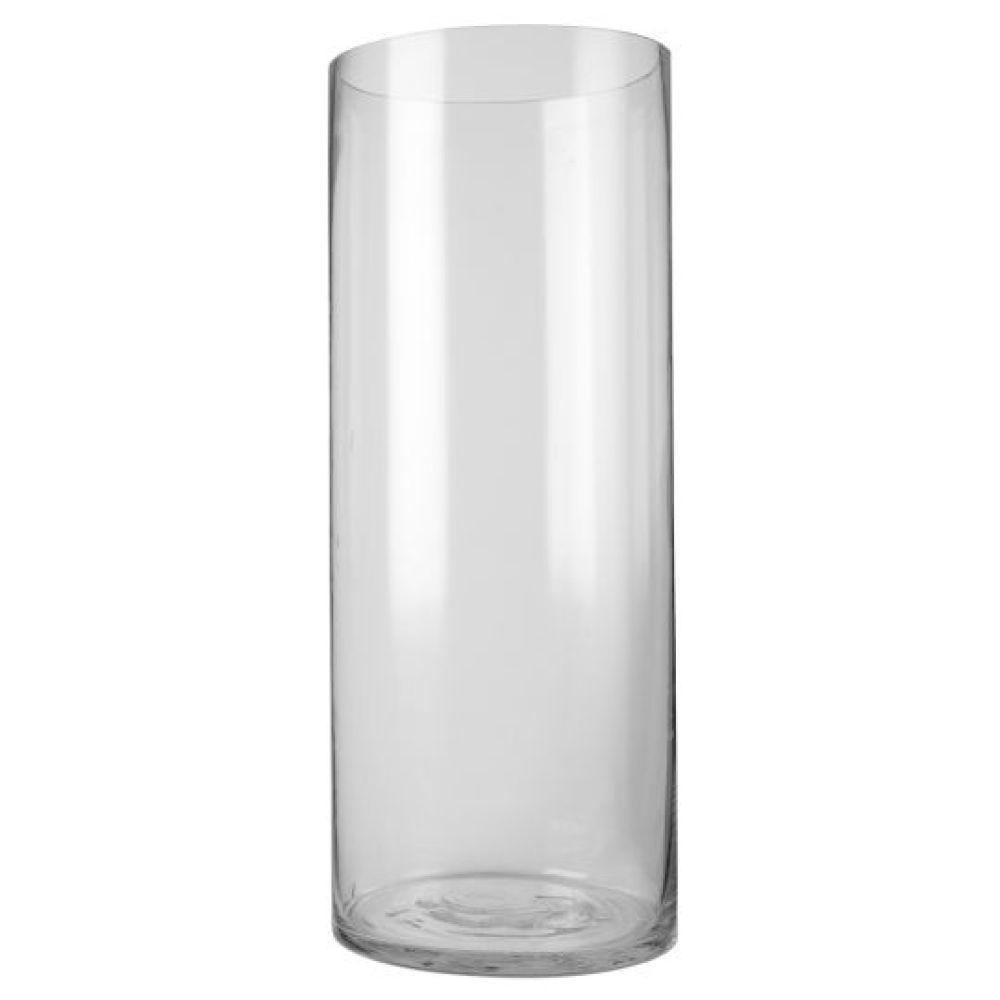 Ashland Large Cylinder Glass Vase, 18\