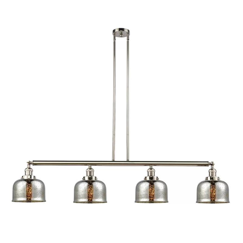 Morrow 4 Light Kitchen Island Linear Pendant Vintage Led Bulbs Kitchen Island Pendants Innovations Lighting