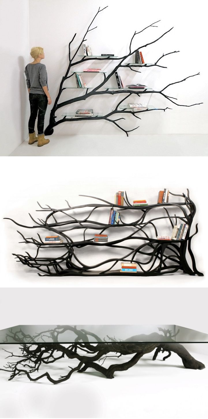 Found Fallen Tree Branch is Repurposed into Beautifully ...