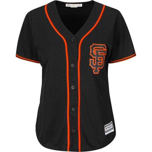 7256b624 San Francisco Giants Women's Cool Base® Alternate Jersey by Majestic  Athletic - MLB.com Shop