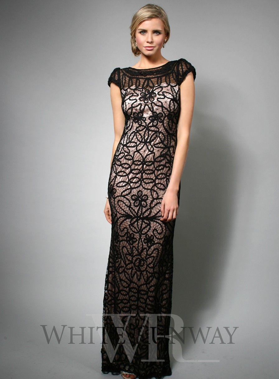 Hannah Dress | Lace dress black, Lace evening dresses
