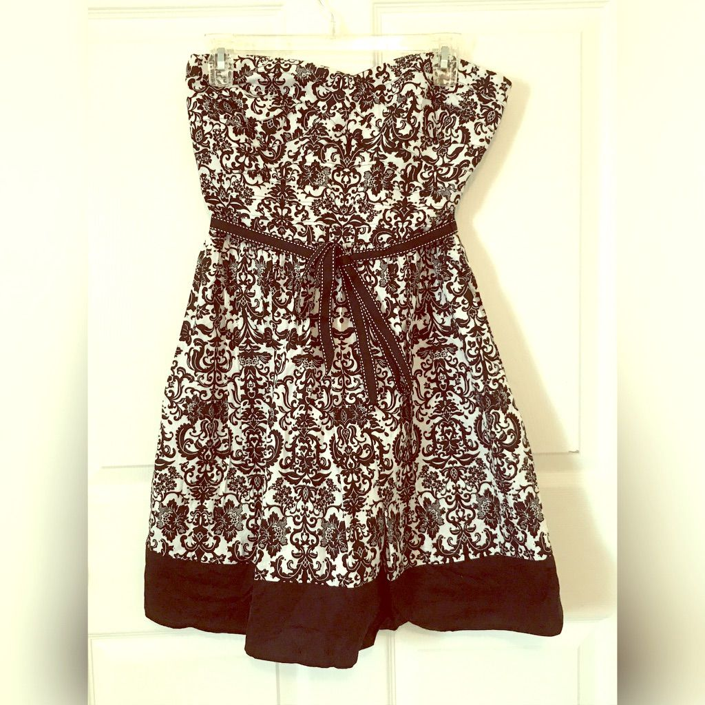 Trixxi Black And White Juniors Floral Dress Sz 11 Products