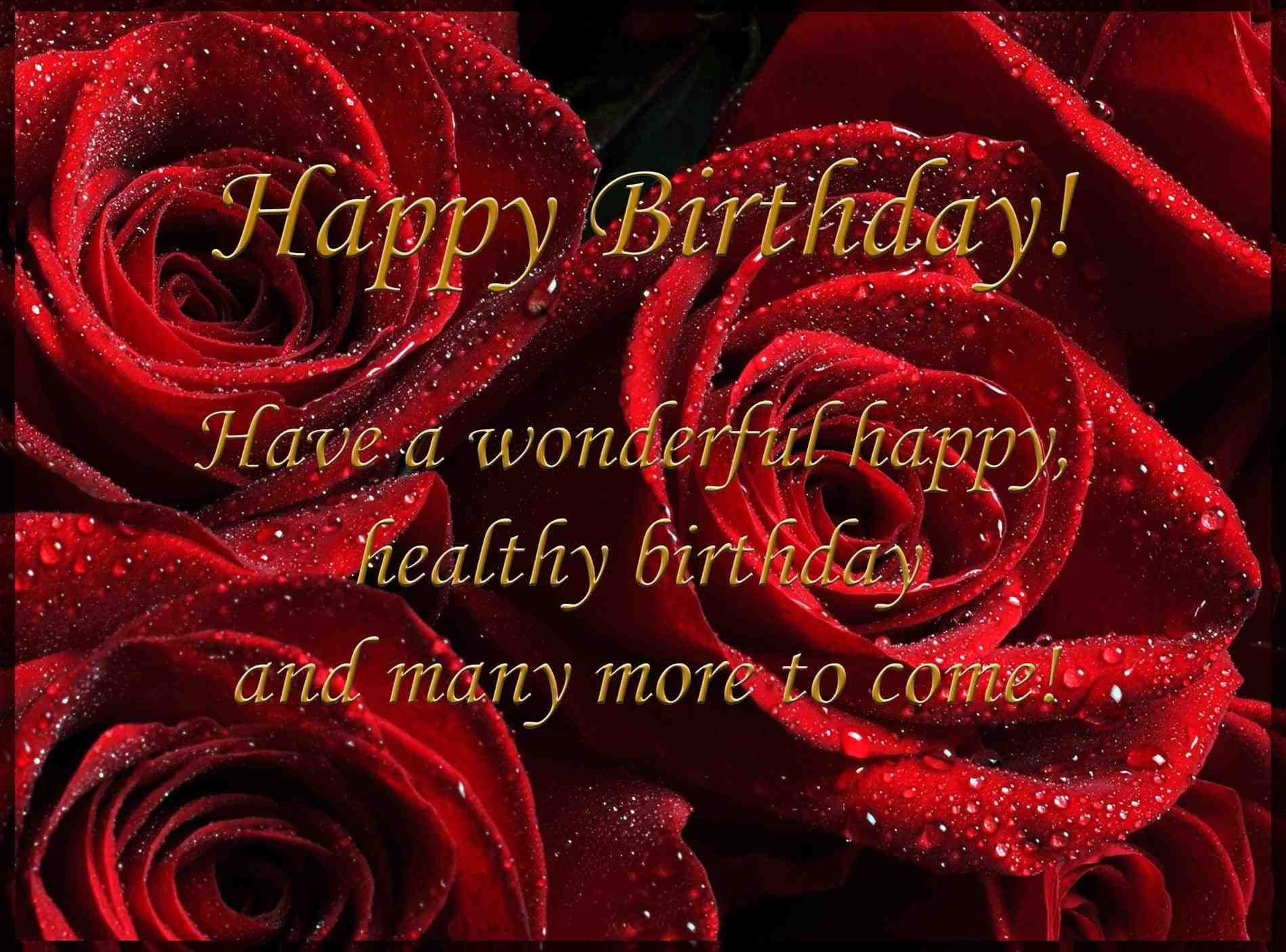 Greeting Cards For Birthday Happy Birthday Wishes Images Free