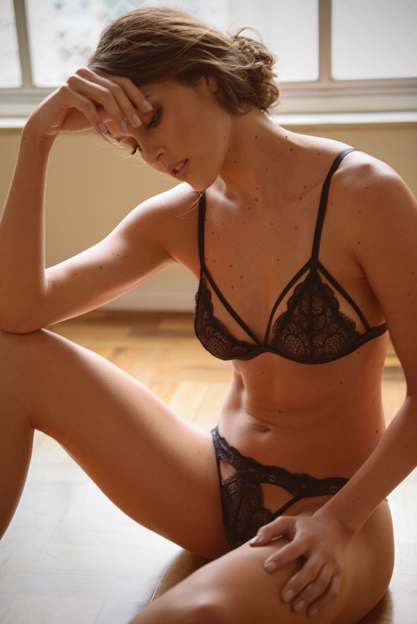Carol Coelho Intimates Paris Collection cut-out tanga and bralette ... f5c52683436