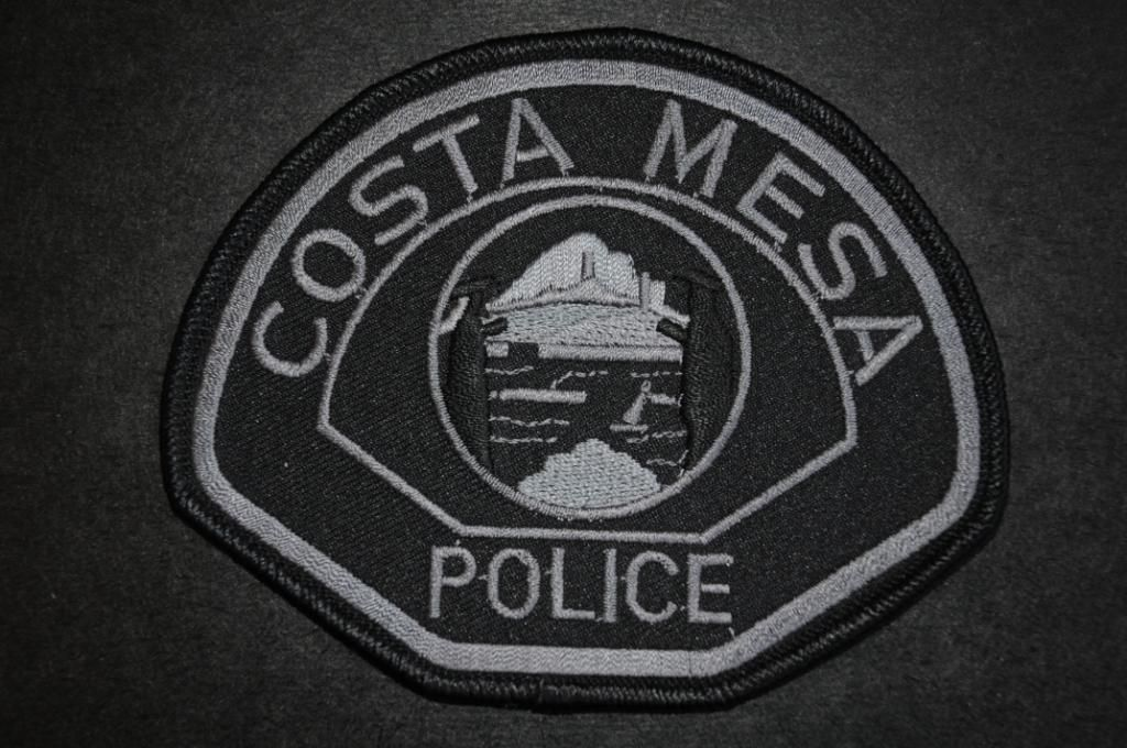 Costa Mesa Police Patch Swat Team Subdued Orange County California Current 2006 Issue Police Patches Police Patches