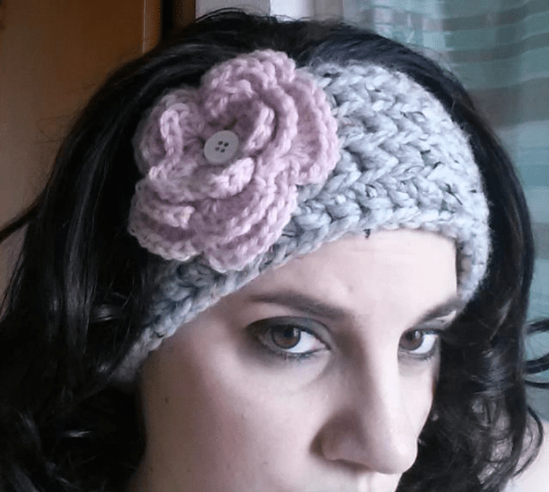 10 Free Crochet Head Wrap Patterns (with ear warmers and headbands)