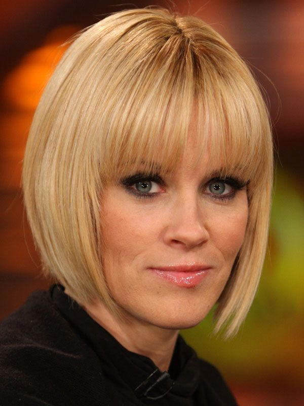 The Best And Worst Bangs For Heart Shaped Faces Hair Pinterest