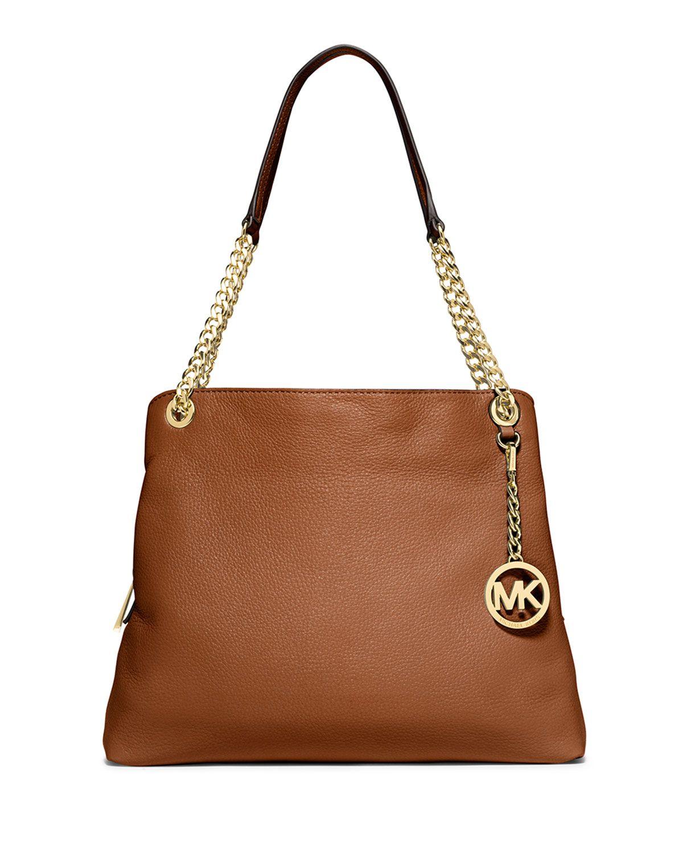 MICHAEL Michael Kors Jet Set Chain Large Shoulder Bag, Luggage