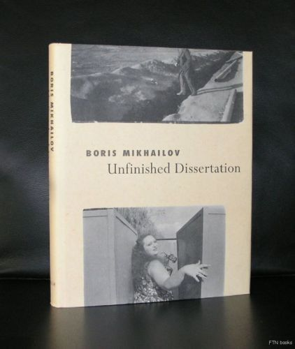 Boris mikhailov unfinished dissertation