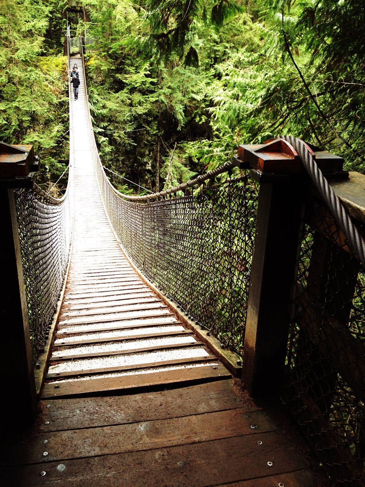 Lynn Valley Suspension Bridge. North Vancouver, Canada. xoxo.