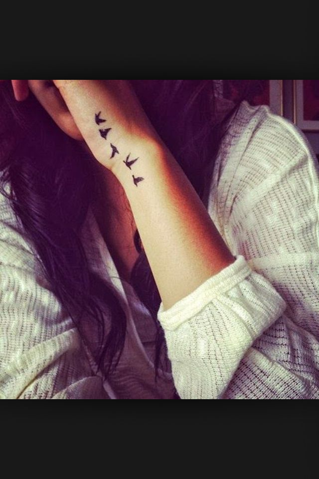 3accf5c6a Doves... Side Wrist Tattoos: birds, doves, small | Projects to Try ...