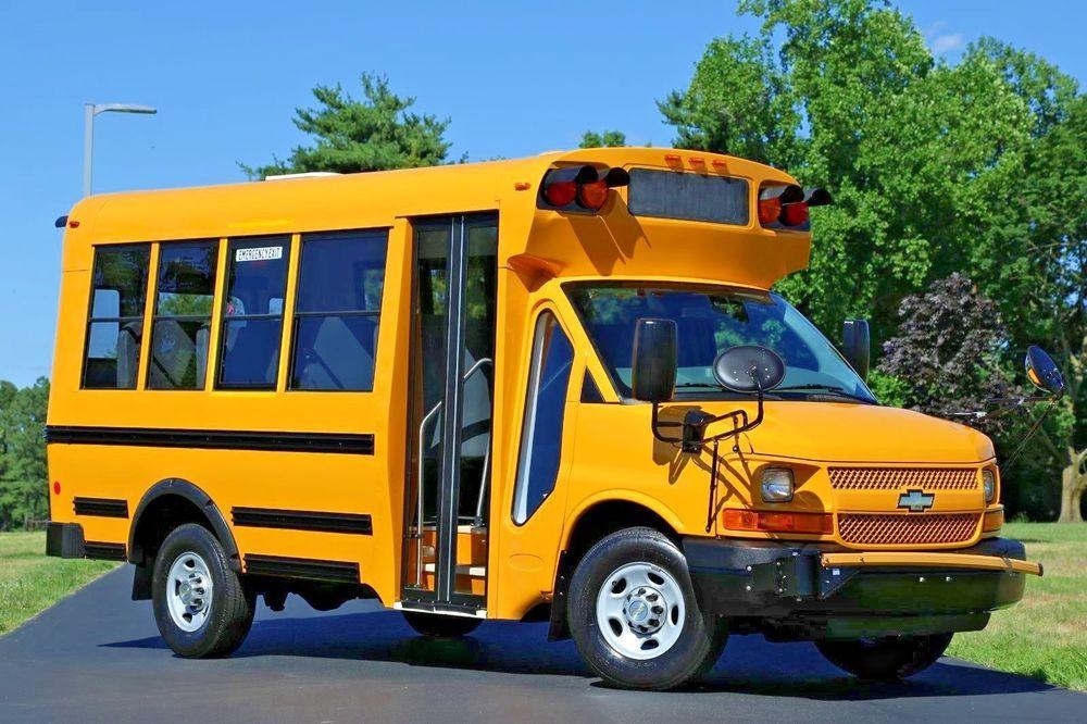 Chevrolet 2012 Chevrolet Express 3500 Micro Bird Mini School Bus