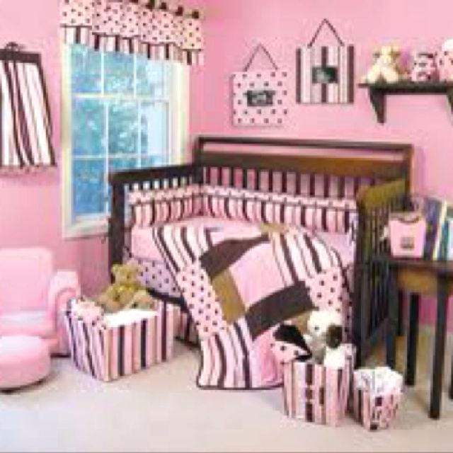 Love The Pink And Brown Theme Little Ones Pinterest Babies