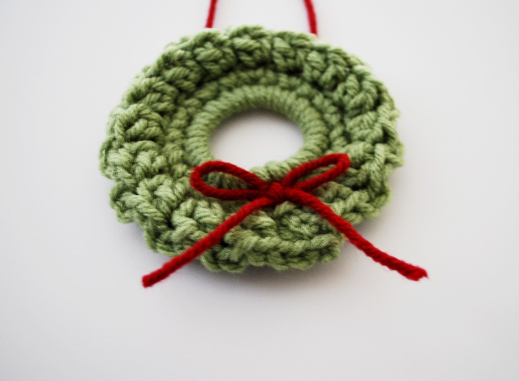 Mini Crochet Wreath | Pinterest | Wreaths, Ornament and Scrap