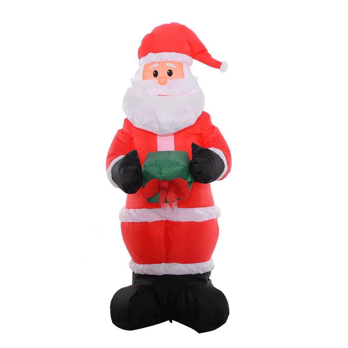 6Ft Airblown Inflatable Christmas Xmas Santa Claus Decoration Lawn ...