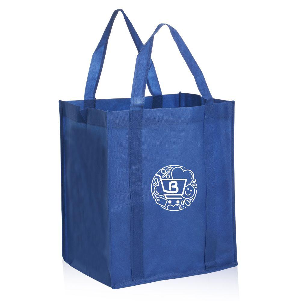 Custom reusable grocery tote bags tot11 discountmugs