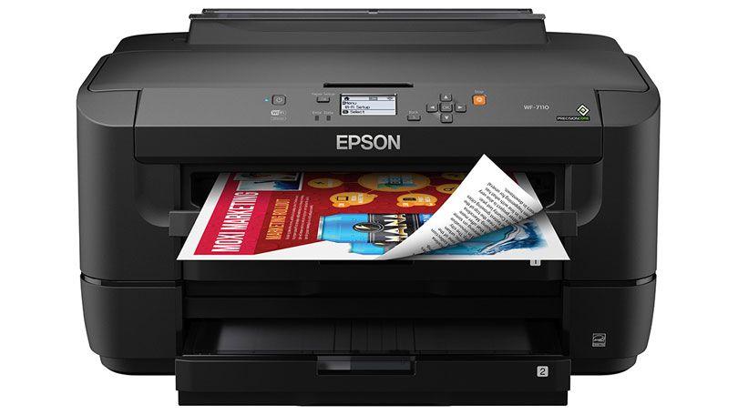 Epson Workforce Wf 7110 Review Best Printers Vinyl Printer Best Inkjet Printer