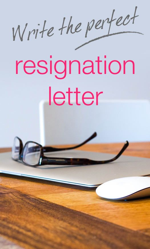 Resign Gracefully Resignation letter, Career and Job search