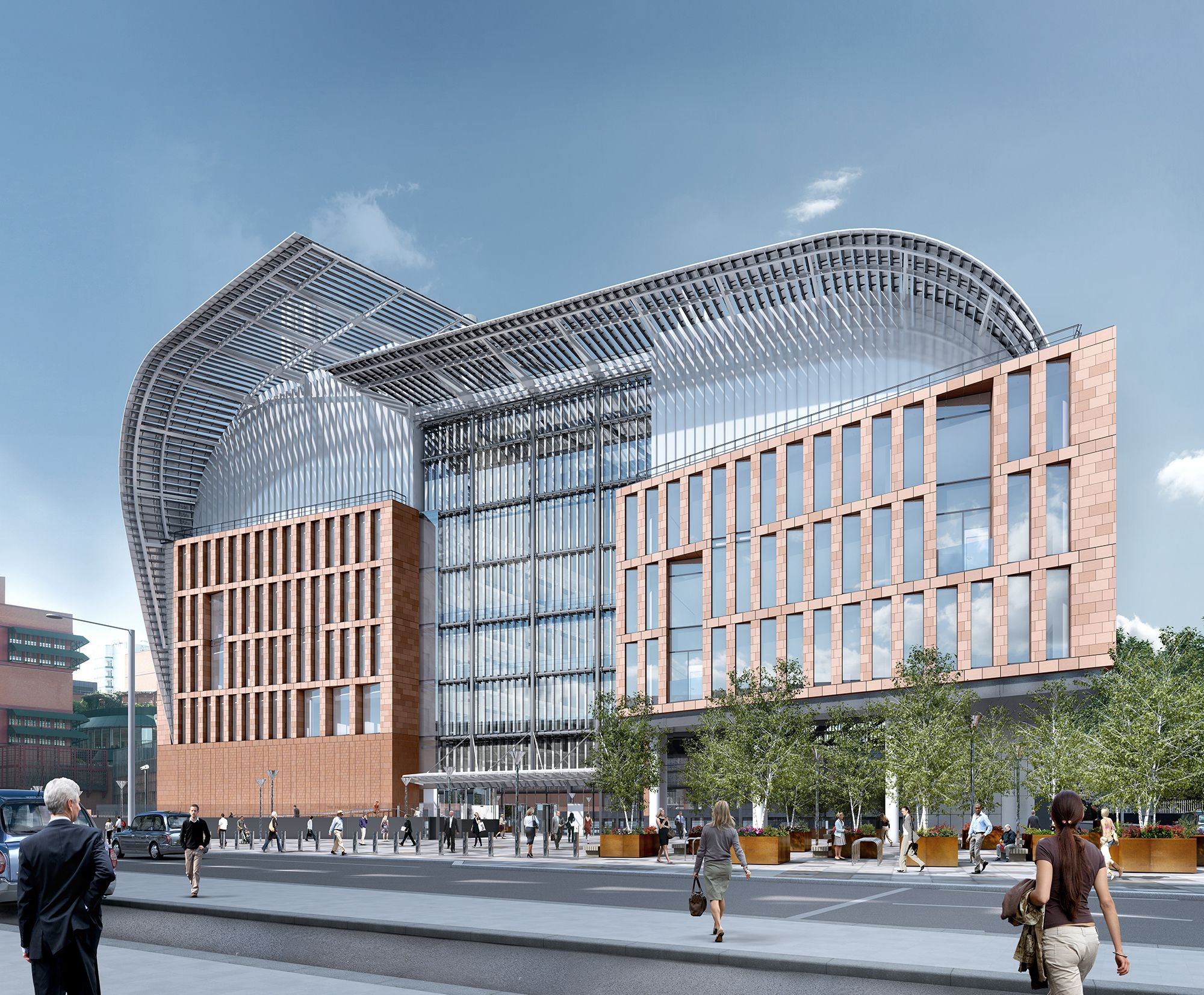 The Francis Crick Institute | London, UK | In The New Institute,  Multidisciplinary Groups