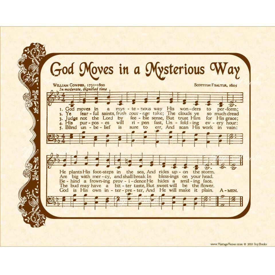 God Moves in a Mysterious Way | Southern
