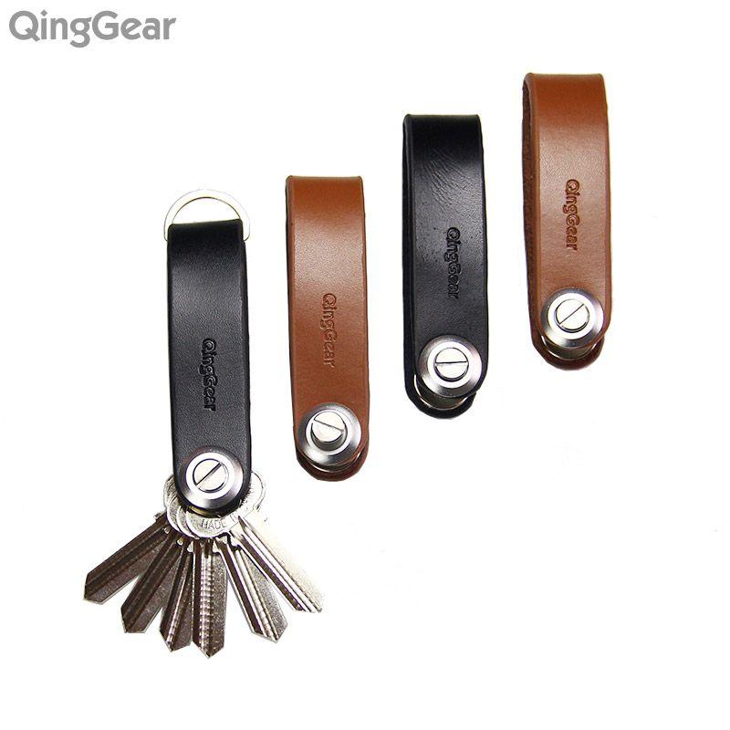 4PCSLOT Hand Tool Set QingGear LKey Key Organizer Handmade Leather