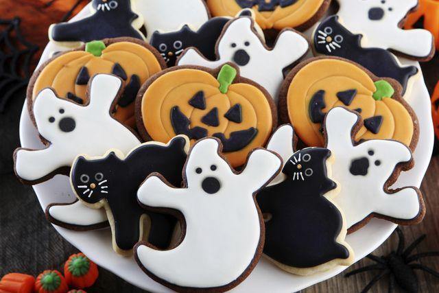 Galletas tradicionales de Halloween Fiestas
