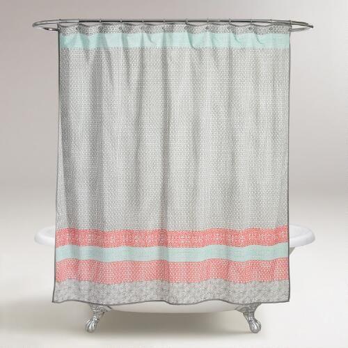 Dhara Shower Curtain World Market Shower Curtain Stylish Shower Curtain Unique Shower Curtain