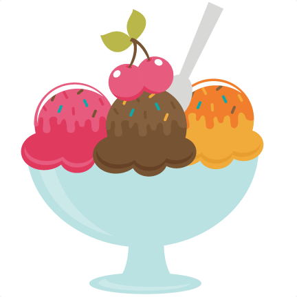 Ice cream bowl. Of svg file for