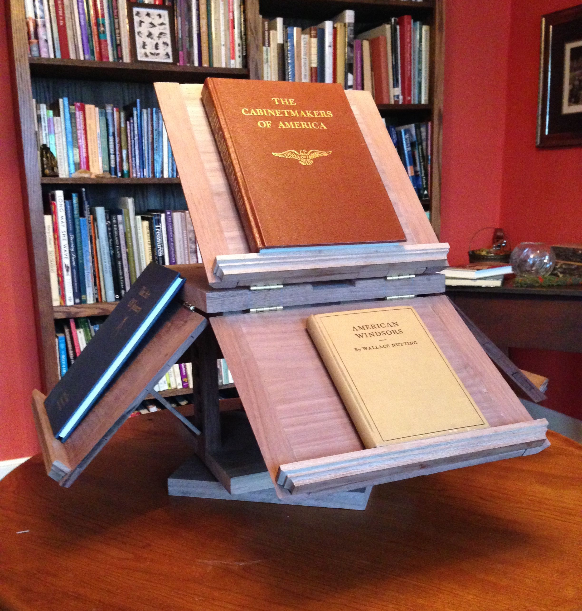 jefferson s revolving bookstand a reproduction of a 5 book