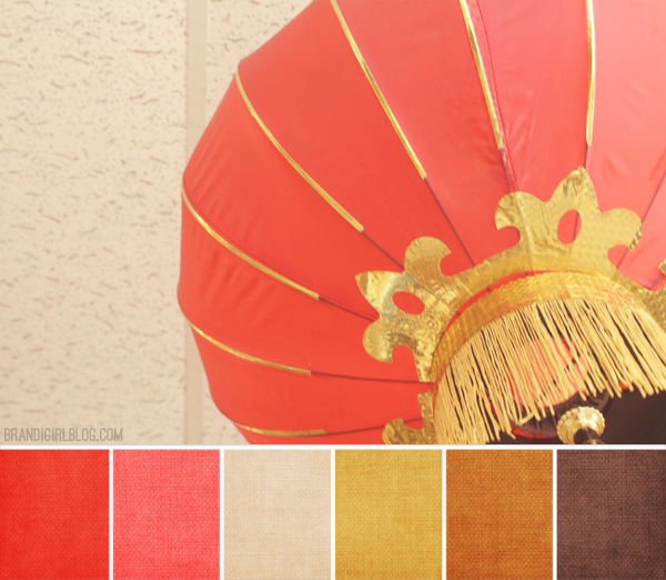 Color palette 127 chinese lantern color palettes and for Oriental colour palette
