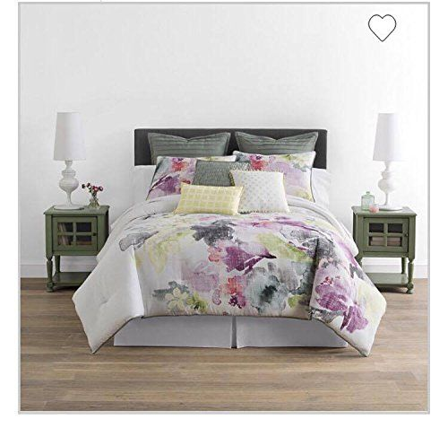 Watercolor Floral 4 Pc Comforter Set Queen Unknown Https Www Amazon Com Dp B01m08unmj Ref Cm Sw R Pi Dp X Ezm Comforter Sets Floral Comforter Sets Comforters