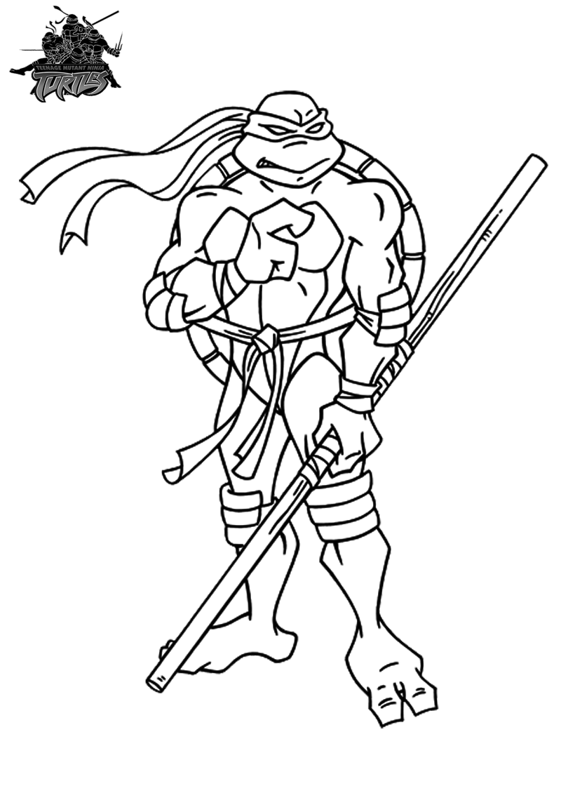 ninja turtle coloring pages for kids bratz coloring pages