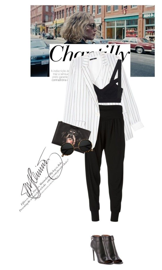 """""""Untitled #1312"""" by talita-roberto ❤ liked on Polyvore featuring Nome, Givenchy, TIBI, Donna Karan and H&M"""