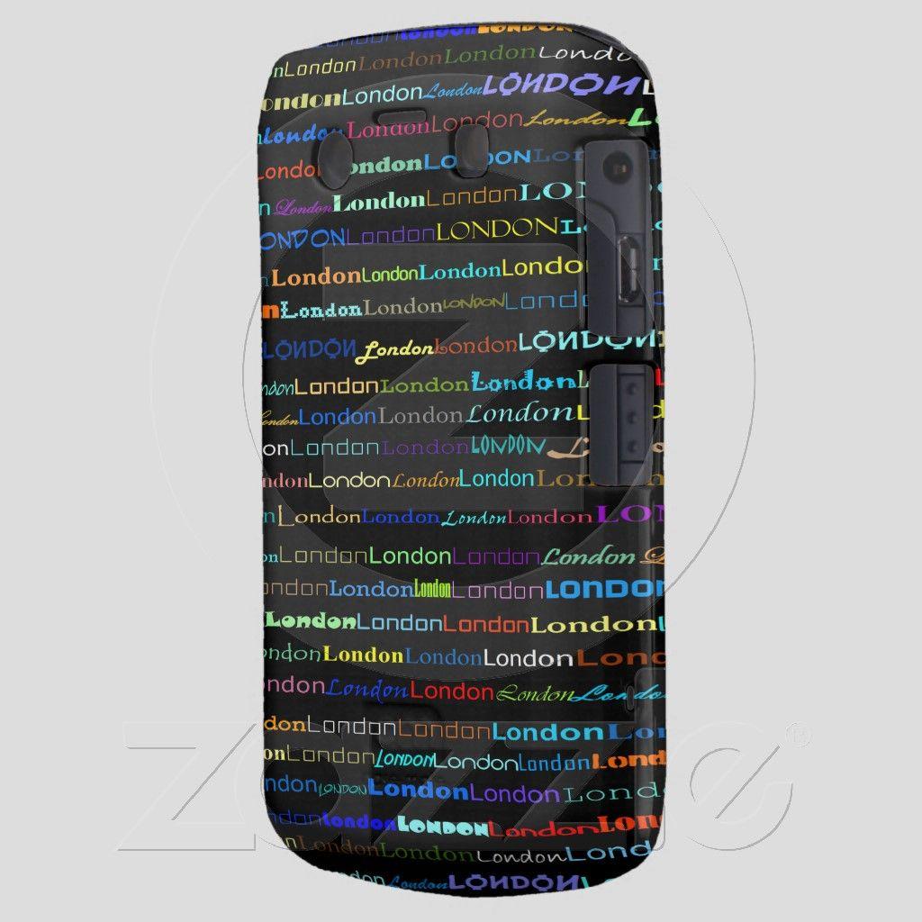 London Text Design I CaseMate BlackberryBold Case $47.95