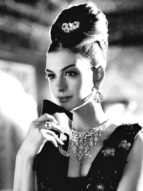 Anne hathaway - Audry Hepburn