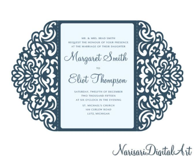 Cameos stationery Wedding Evening Acceptance Card