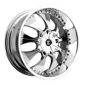 One of the newer and quickly growing wheel companies out there is 2 Crave wheels. With a variety of different finishes on their styles, with 2 Crave you always have a good choice for your vehicle. Introducing the No 3 CHROME. Make 2 Crave Wheels your next Wheel and Tire Package choice.